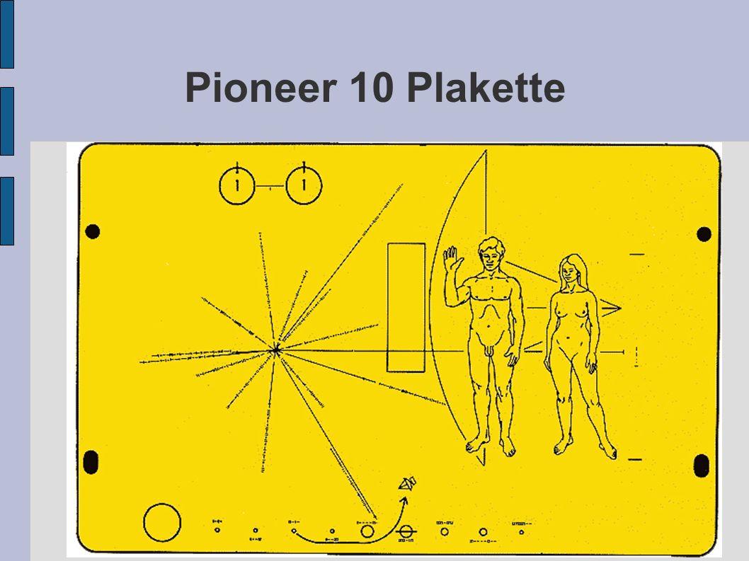 Pioneer 10 Plakette