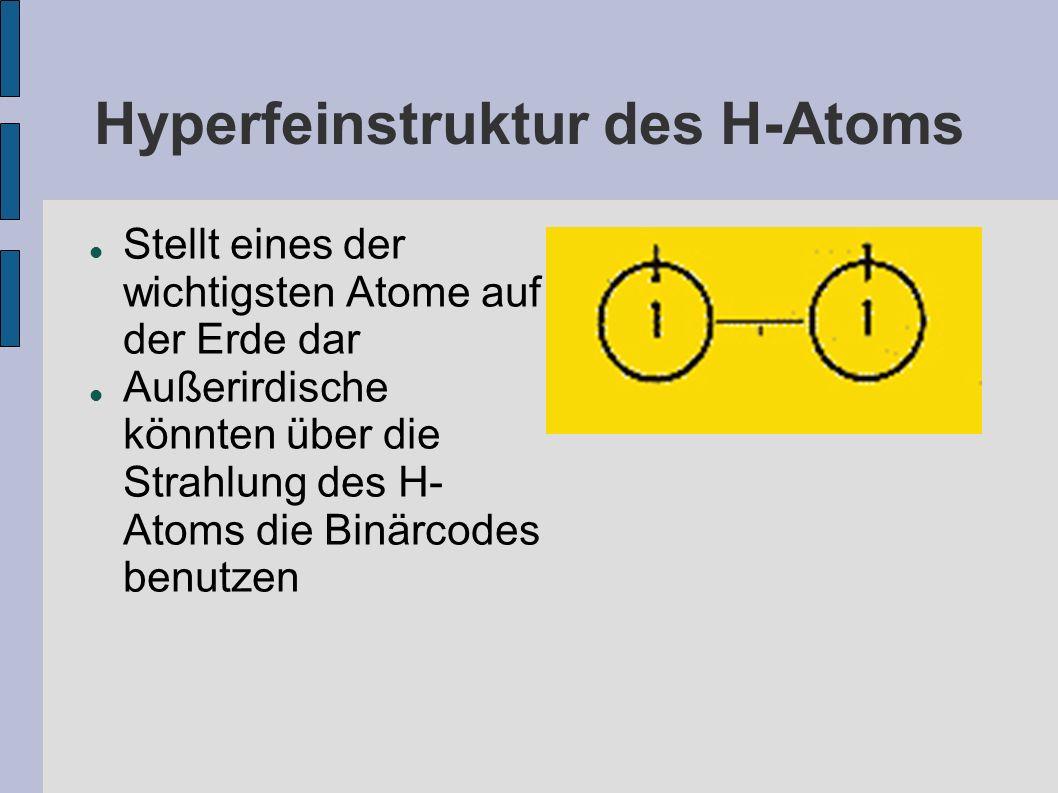 Hyperfeinstruktur des H-Atoms