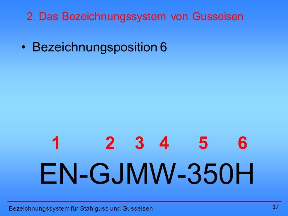 EN-GJMW-350H 1 2 3 4 5 6 Bezeichnungsposition 6