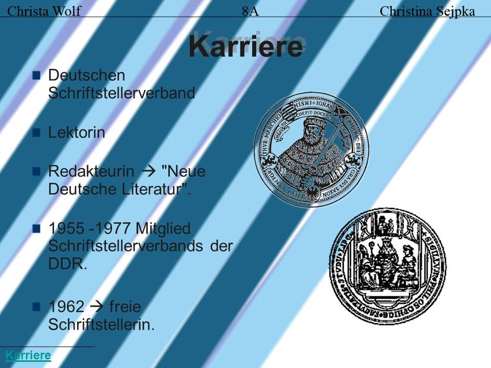 Karriere Deutschen Schriftstellerverband Lektorin