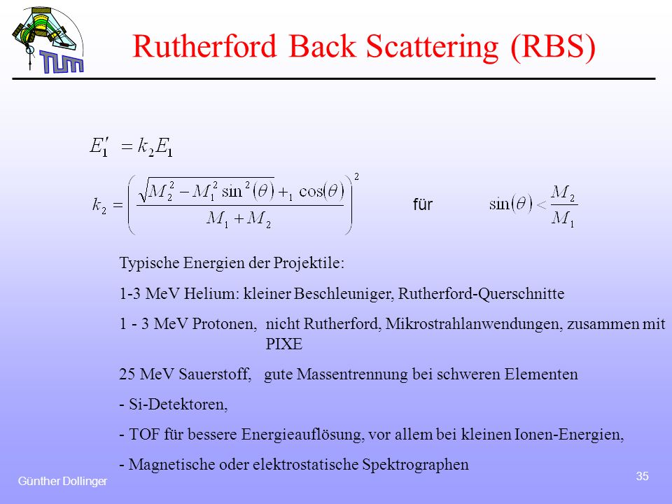 Rutherford Back Scattering (RBS)
