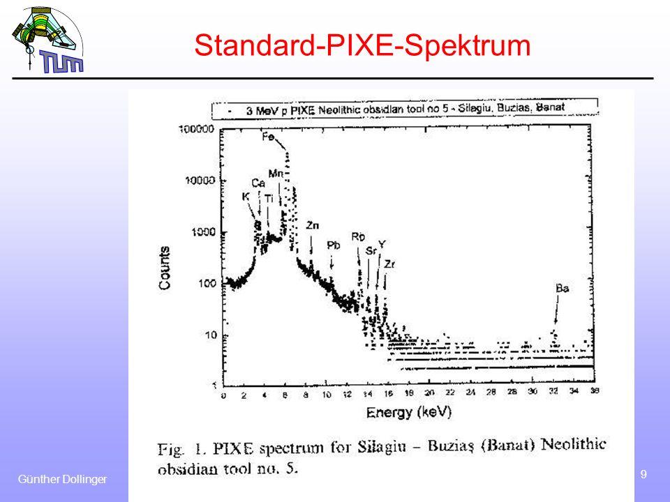 Standard-PIXE-Spektrum