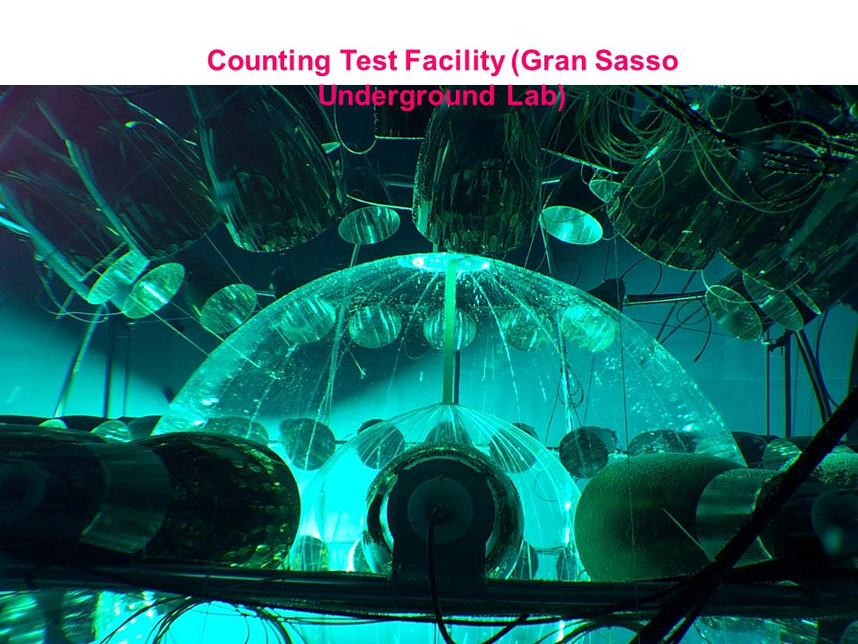 Counting Test Facility (Gran Sasso Underground Lab)