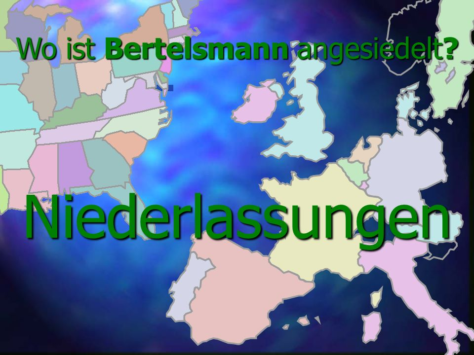 Wo ist Bertelsmann angesiedelt