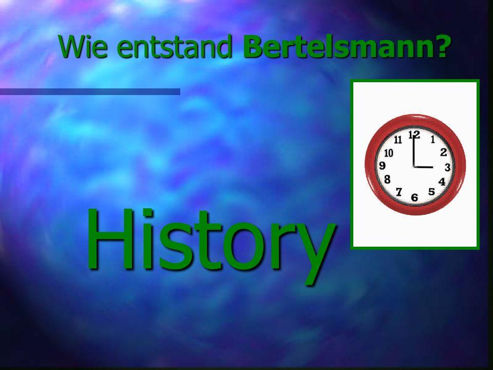 Wie entstand Bertelsmann