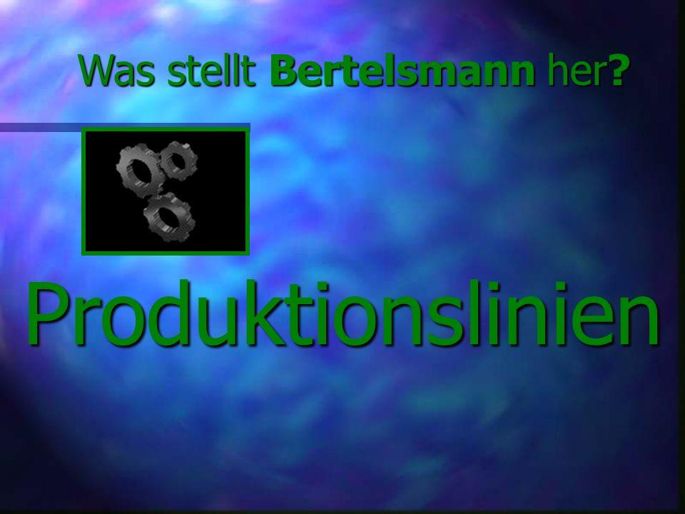 Was stellt Bertelsmann her