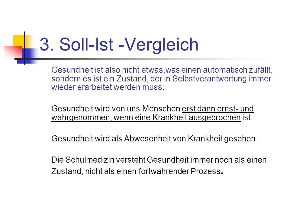 3. Soll-Ist -Vergleich