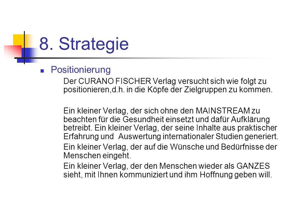 8. Strategie Positionierung