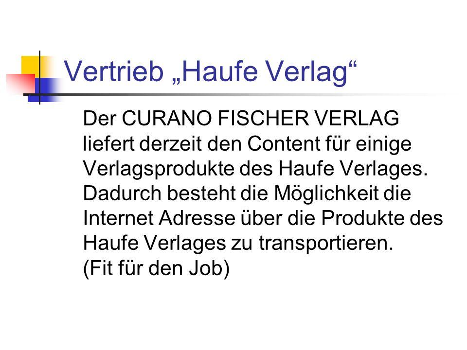 "Vertrieb ""Haufe Verlag"