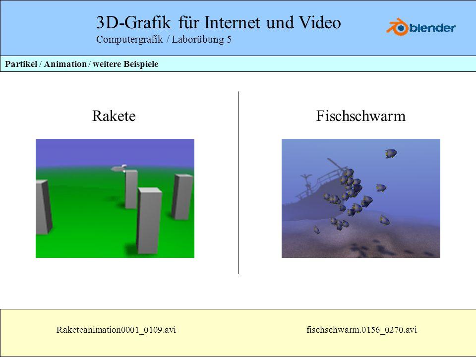 3D-Grafik für Internet und Video