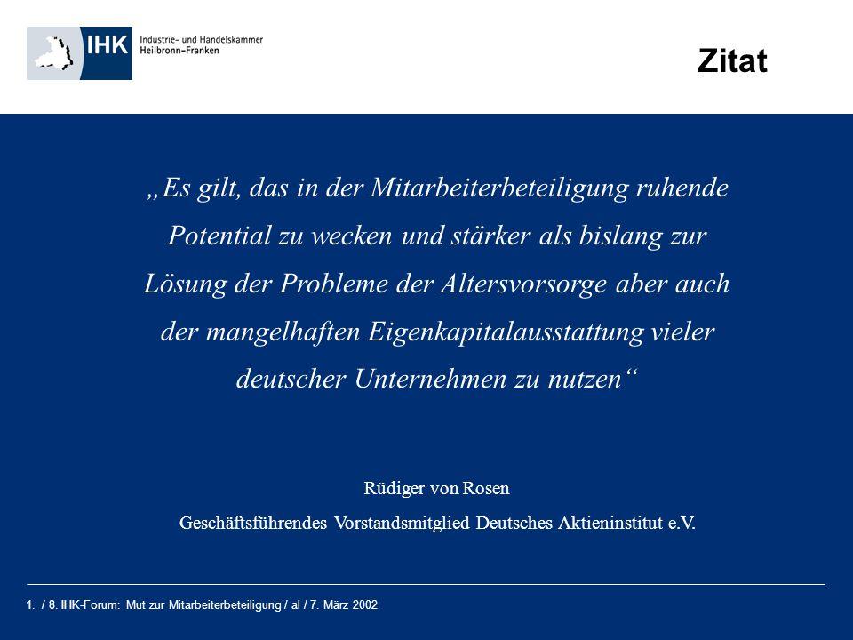 Geschäftsführendes Vorstandsmitglied Deutsches Aktieninstitut e.V.