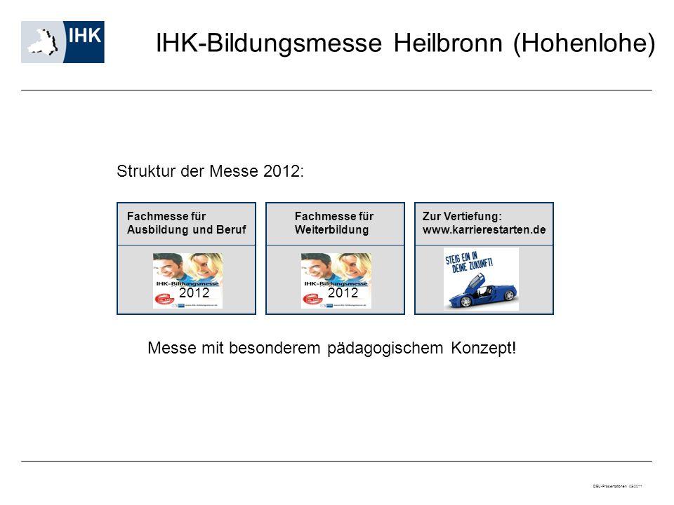 IHK-Bildungsmesse Heilbronn (Hohenlohe)