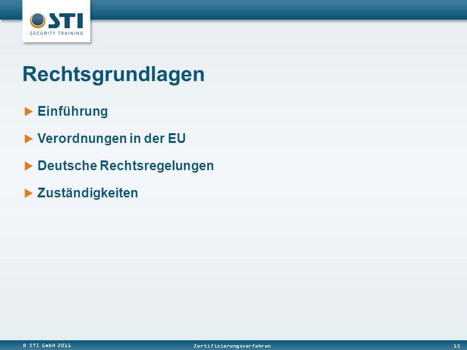 Rechtsgrundlagen Einführung Verordnungen in der EU