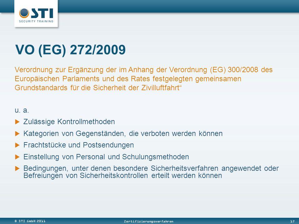 VO (EG) 272/2009