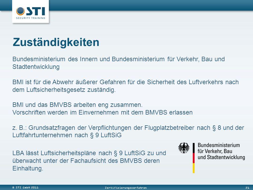 Zuständigkeiten Bundesministerium des Innern und Bundesministerium für Verkehr, Bau und Stadtentwicklung.