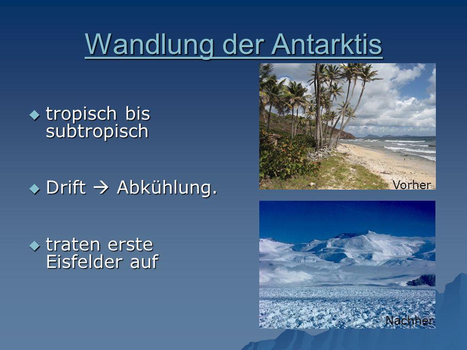 Wandlung der Antarktis