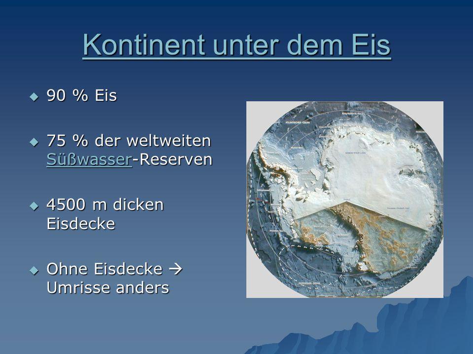 Kontinent unter dem Eis
