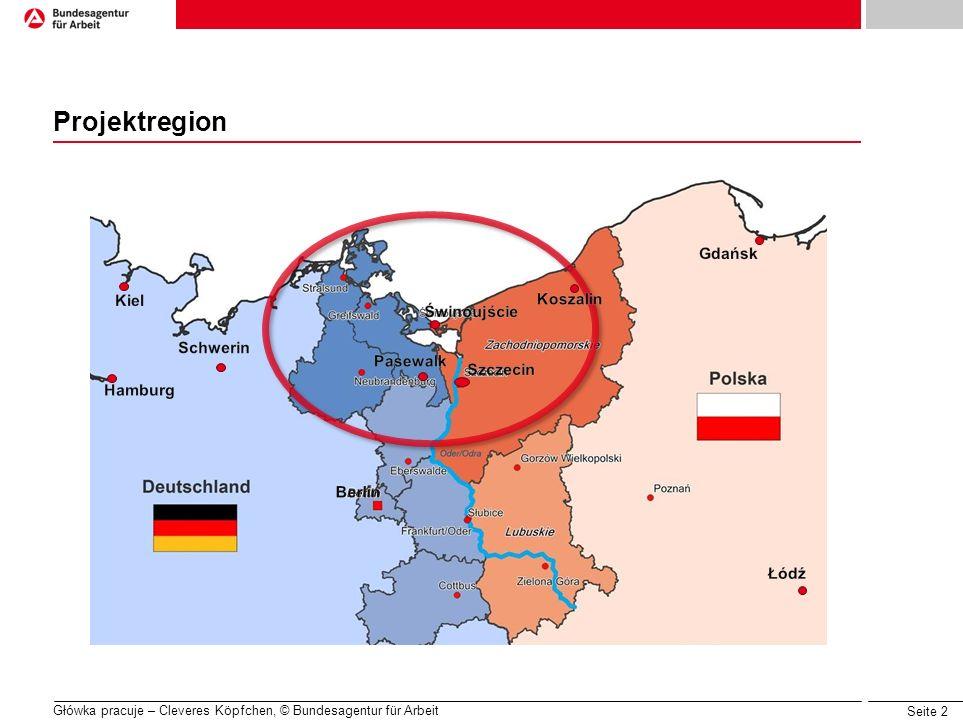 Projektregion Gdańsk Kiel Koszalin Świnoujście Schwerin Pasewalk