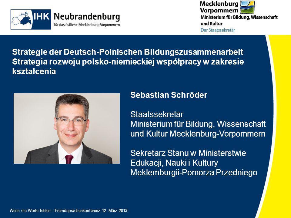 Strategie der Deutsch-Polnischen Bildungszusammenarbeit