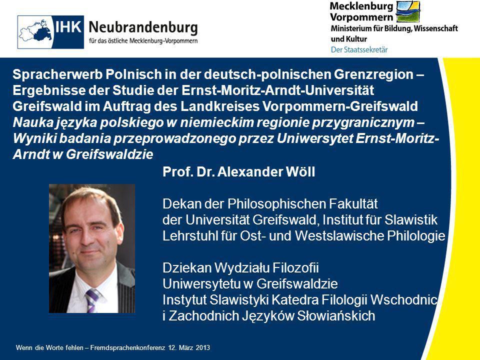 Spracherwerb Polnisch in der deutsch-polnischen Grenzregion –