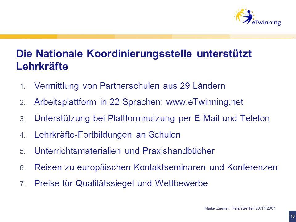 Die Nationale Koordinierungsstelle unterstützt Lehrkräfte