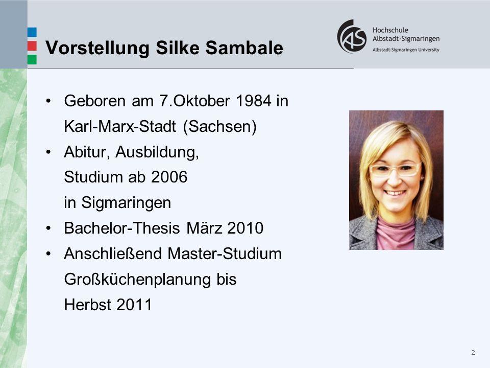 Vorstellung Silke Sambale