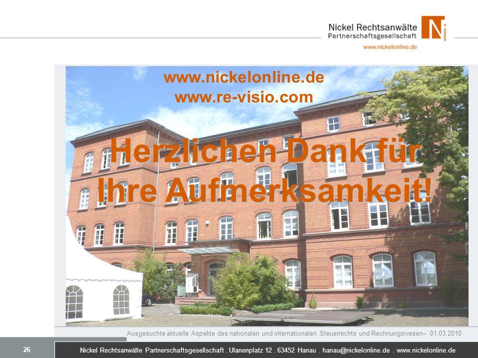 www.nickelonline.de www.re-visio.com