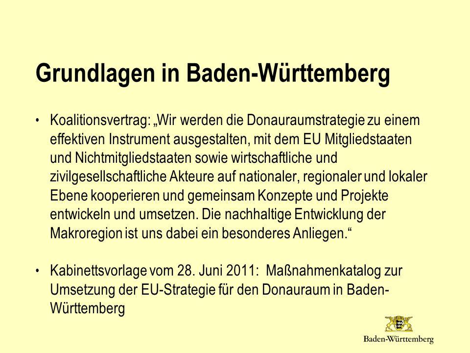 Grundlagen in Baden-Württemberg