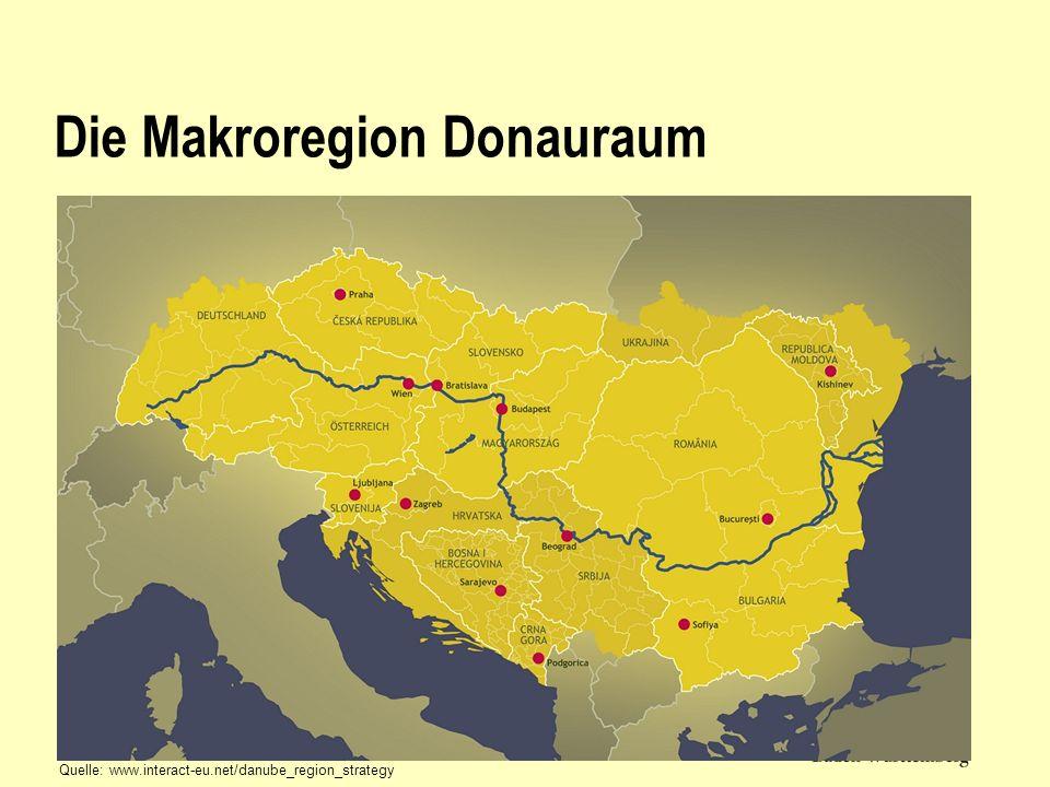 Die Makroregion Donauraum