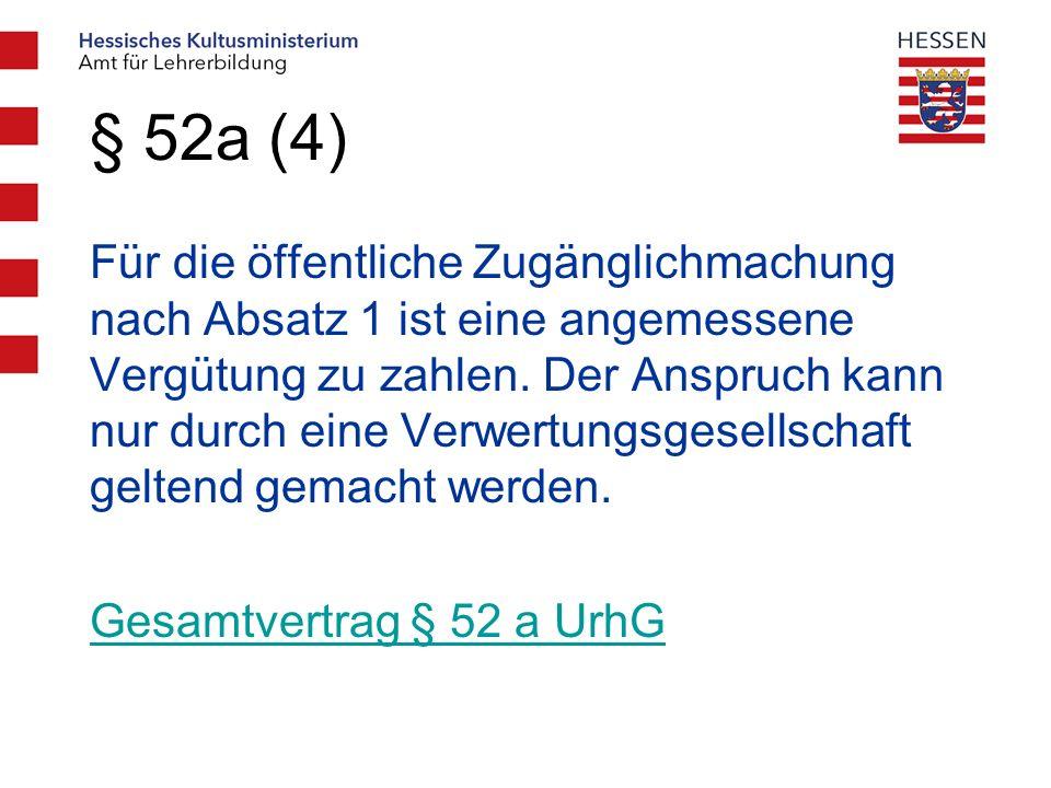 § 52a (4)