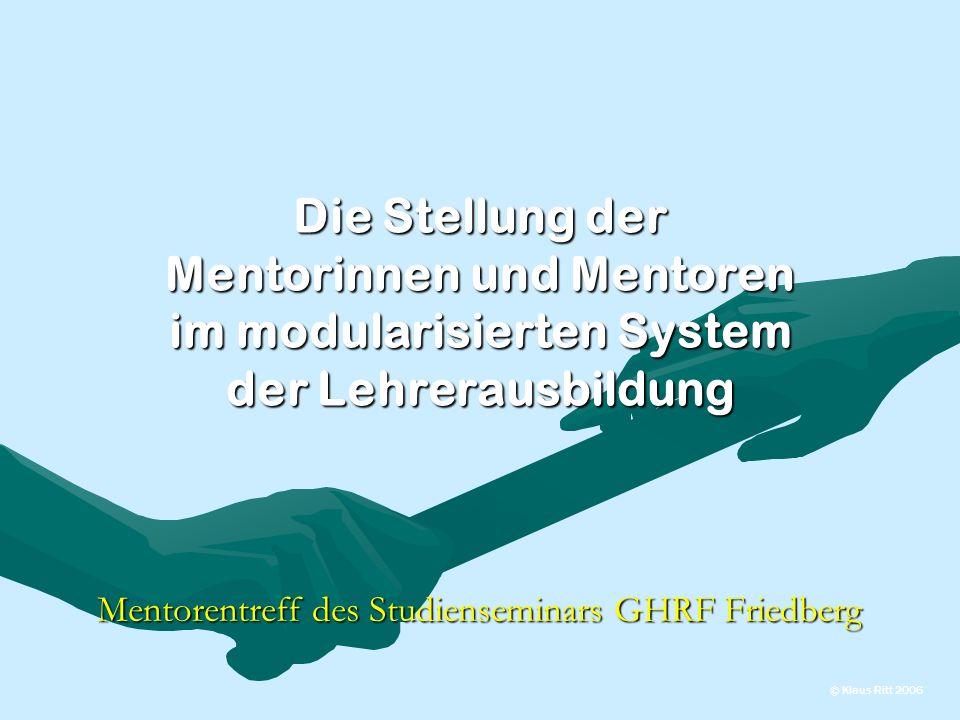 Mentorentreff des Studienseminars GHRF Friedberg