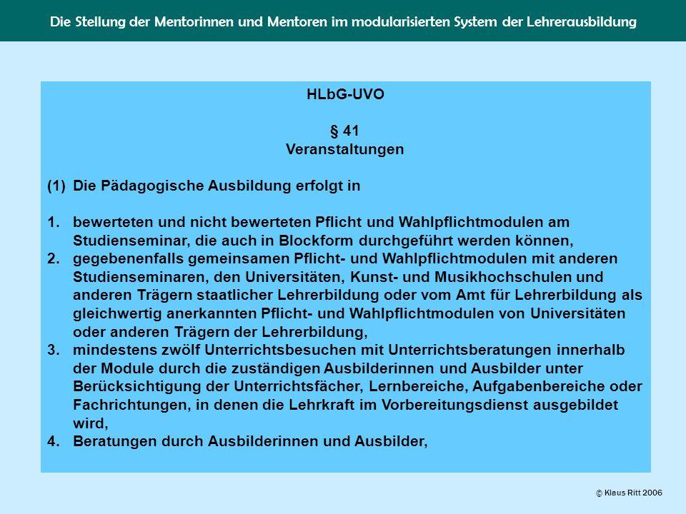 HLbG-UVO § 41 Veranstaltungen