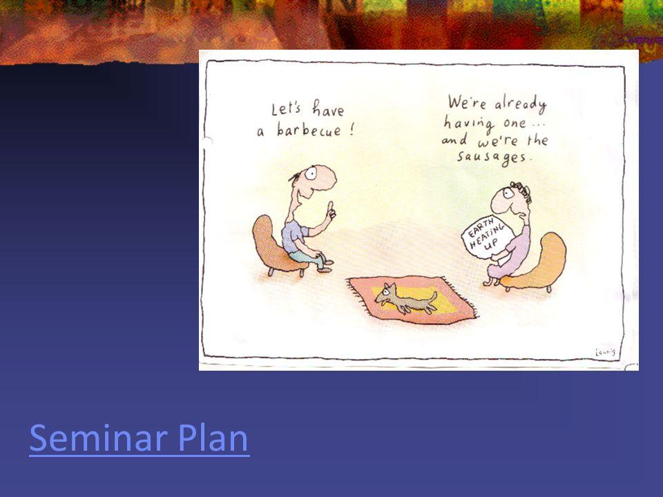 Seminar Plan