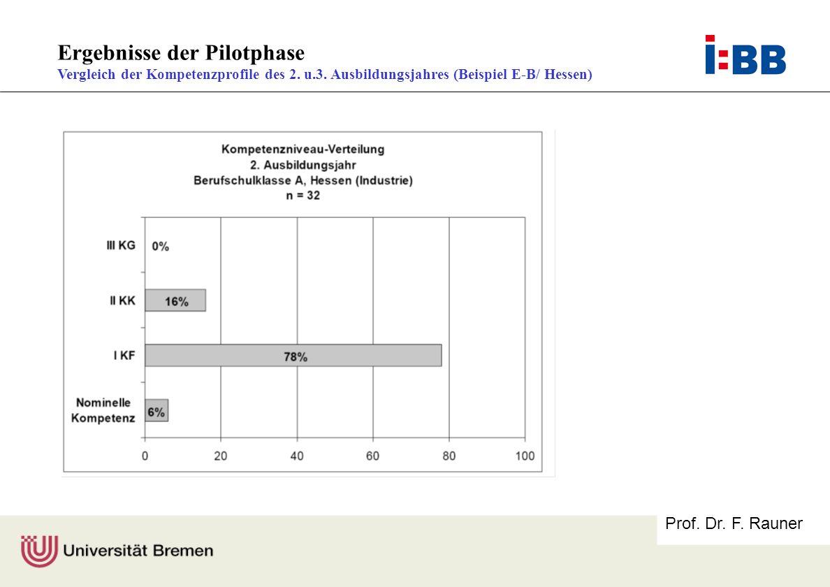 Ergebnisse der Pilotphase