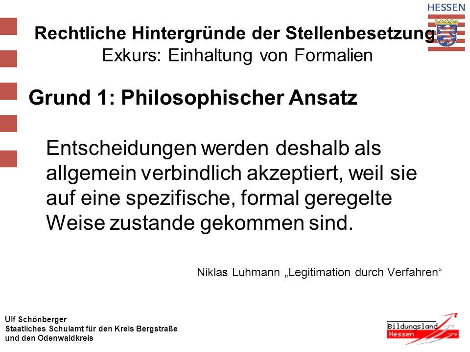 "Niklas Luhmann ""Legitimation durch Verfahren"