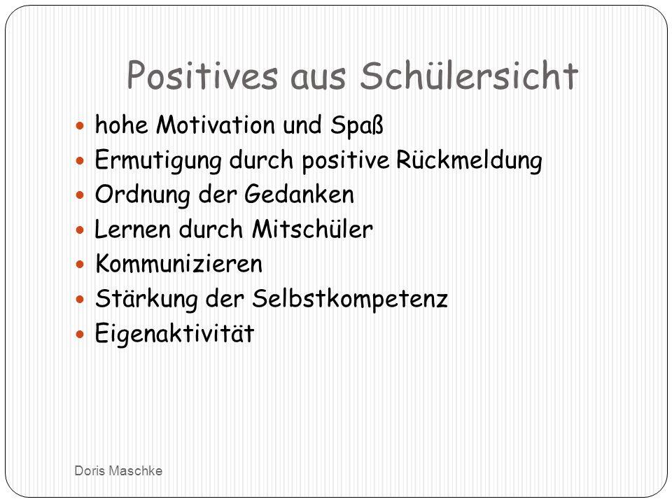 Positives aus Schülersicht