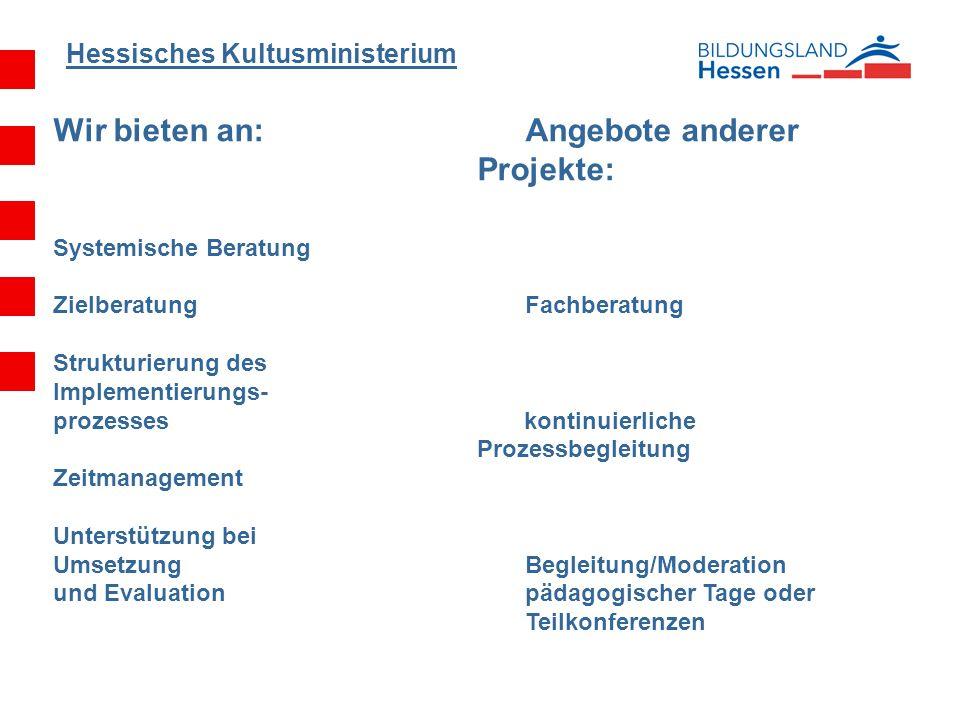Wir bieten an: Angebote anderer Projekte: