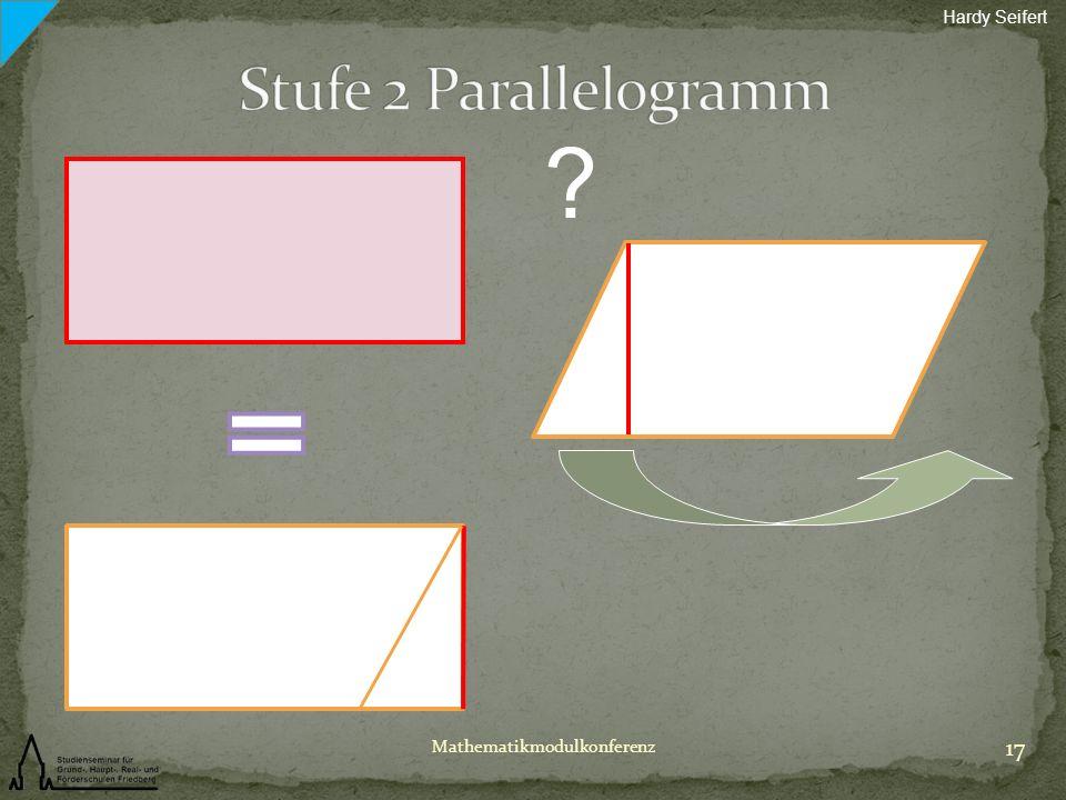 Hardy Seifert Stufe 2 Parallelogramm Mathematikmodulkonferenz