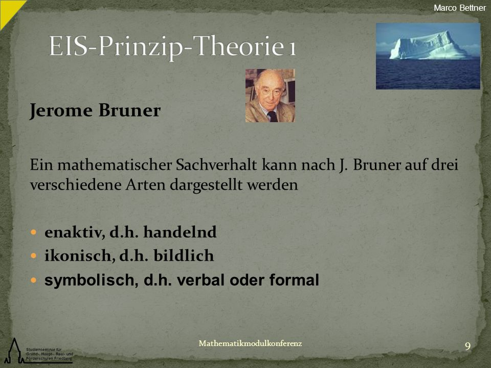 EIS-Prinzip-Theorie 1 Jerome Bruner