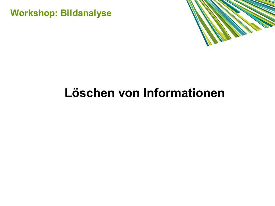 Löschen von Informationen