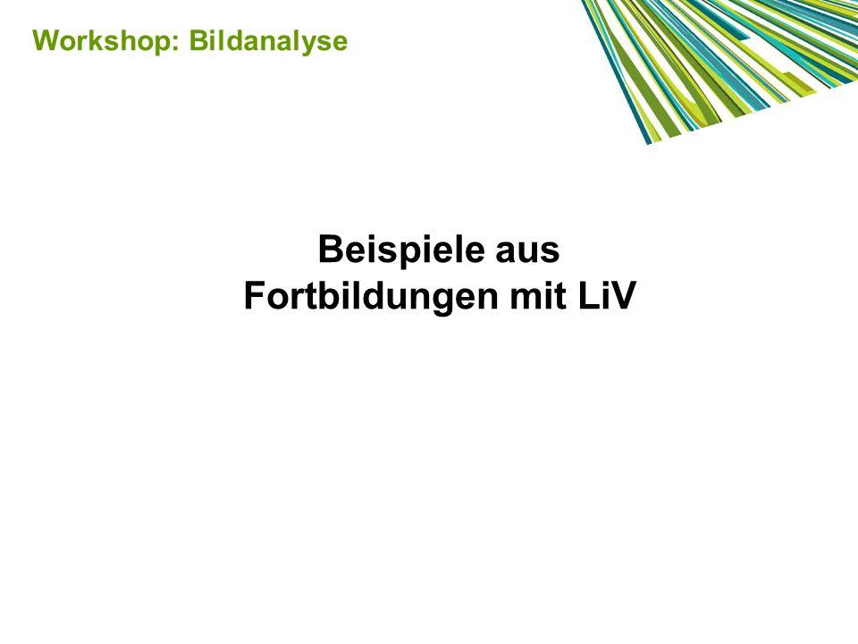 Beispiele aus Fortbildungen mit LiV