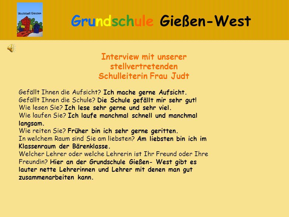 Interview mit unserer stellvertretenden Schulleiterin Frau Judt