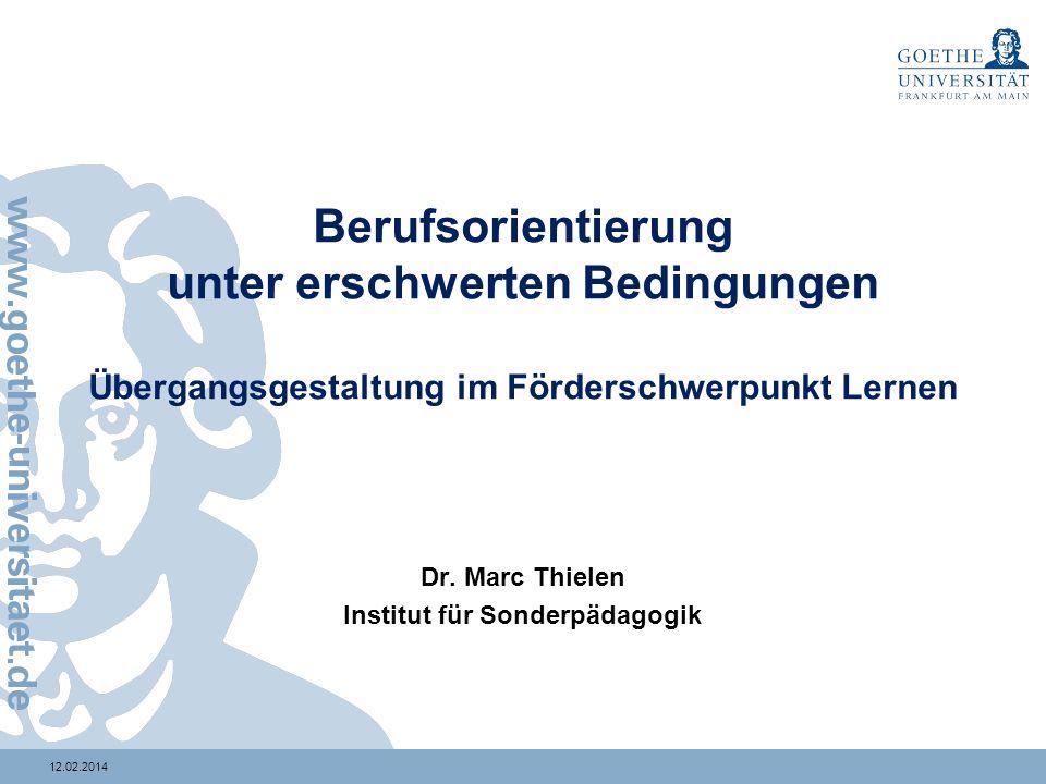 Institut für Sonderpädagogik