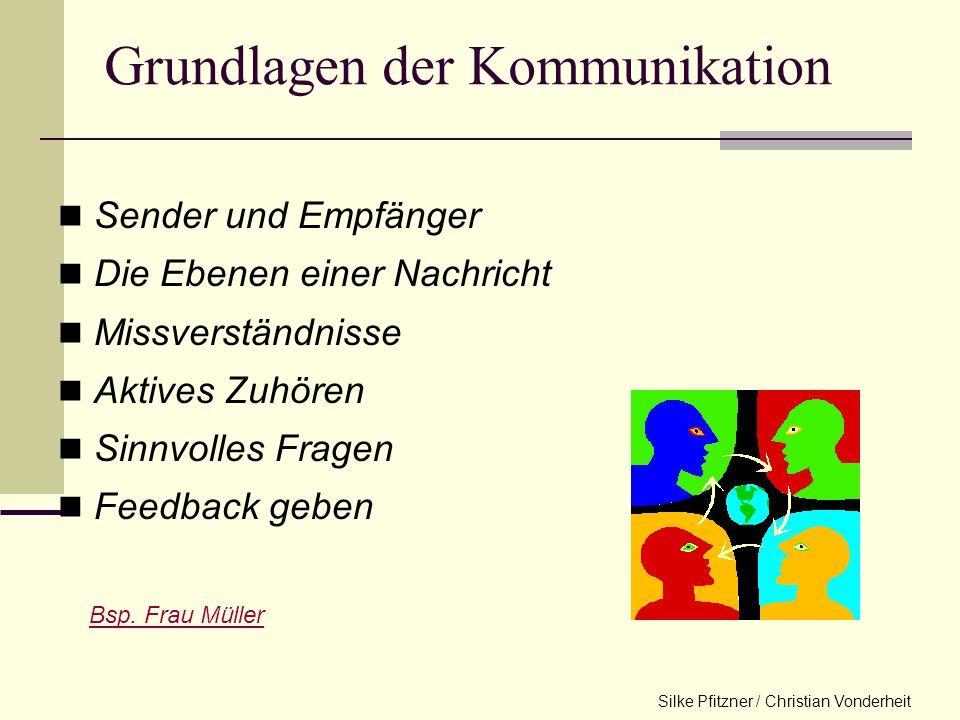 Grundlagen der kommunikation