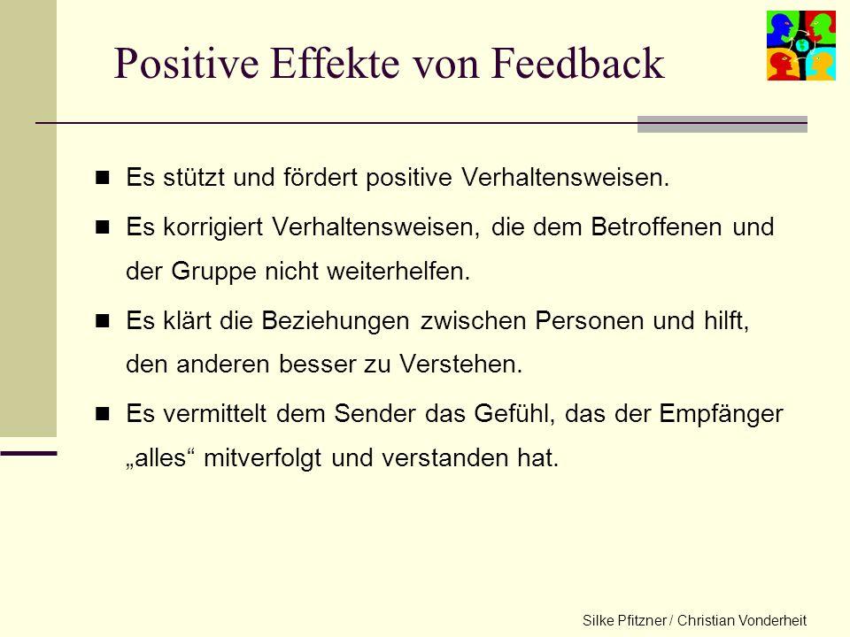 Positive Effekte von Feedback