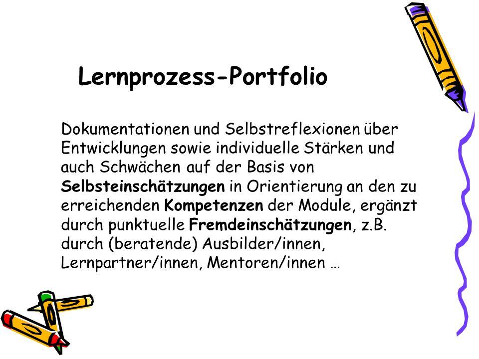 Lernprozess-Portfolio