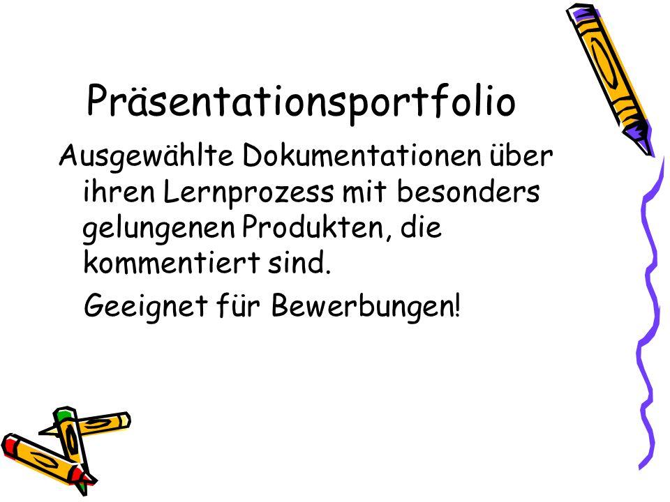 Präsentationsportfolio