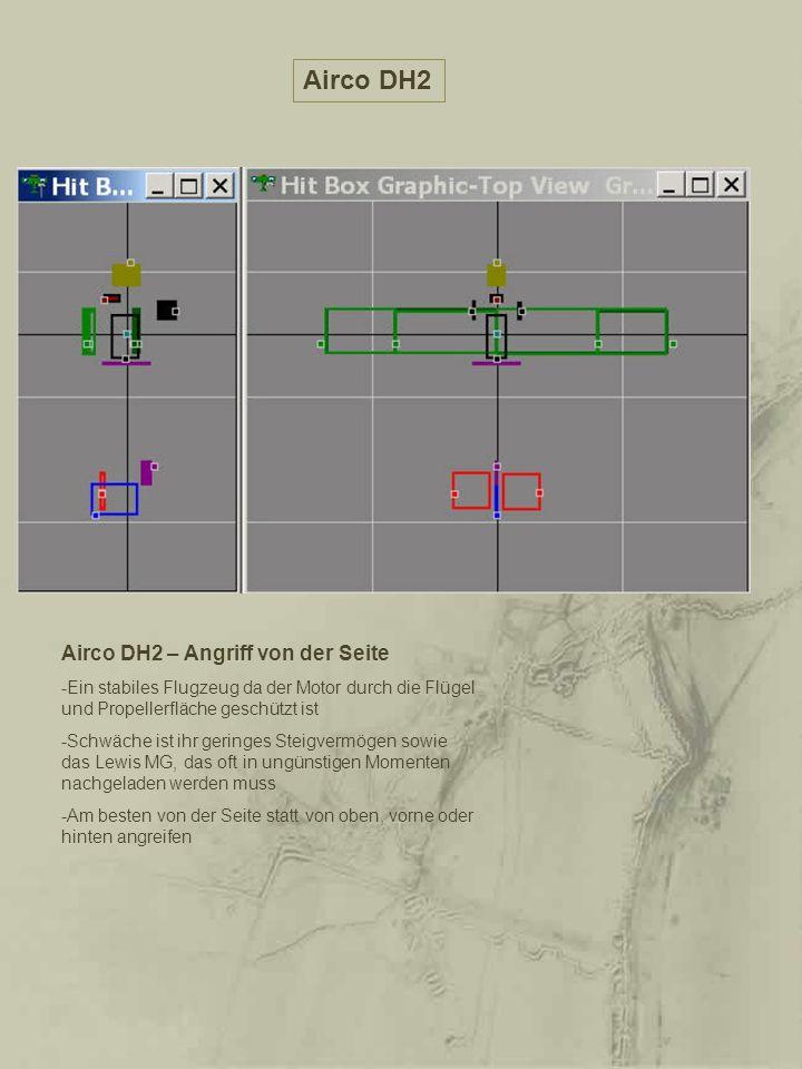 Airco DH2 Airco DH2 – Angriff von der Seite