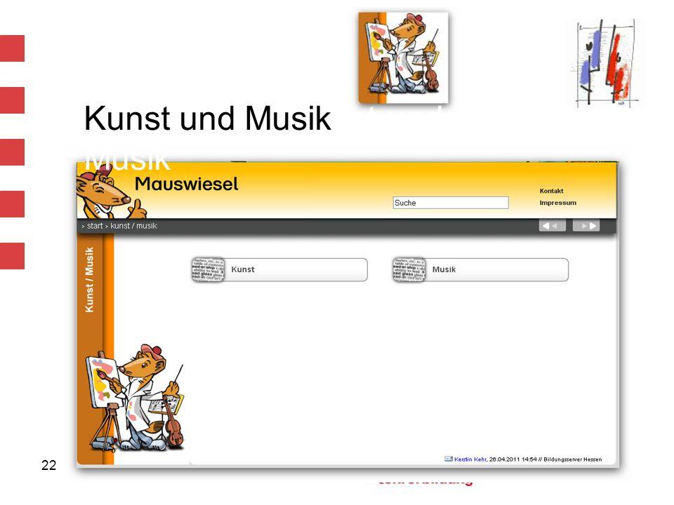 Kunst und Musiknst und Musik