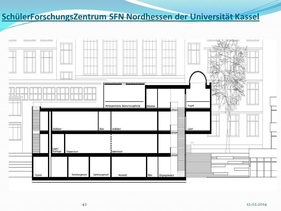 SchülerForschungsZentrum SFN Nordhessen der Universität Kassel